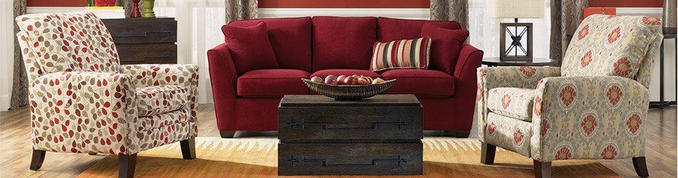 La Z Boy Leighton Traditional Rolled Arm Loveseat With Premier