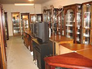 shop for cabinets, consoles, and bookshelves at Lancaster Galleries
