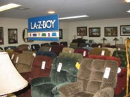 shop for Lazboy recliners at Lancaster Galleries